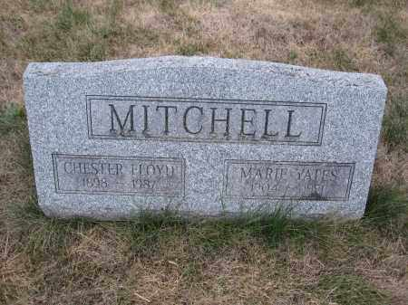 MITCHELL, MARIE YATES - Union County, Ohio | MARIE YATES MITCHELL - Ohio Gravestone Photos