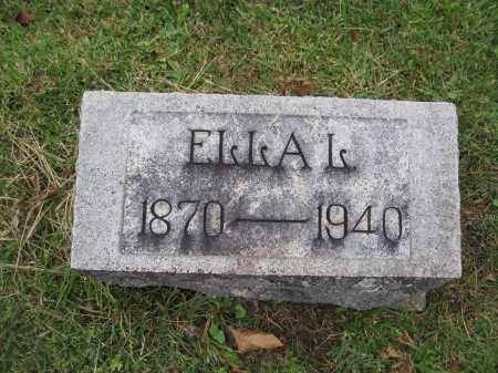 MITCHELL, ELLA L. PREDMORE - Union County, Ohio   ELLA L. PREDMORE MITCHELL - Ohio Gravestone Photos