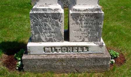 MITCHELL, JESSE - Union County, Ohio | JESSE MITCHELL - Ohio Gravestone Photos