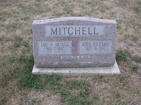 MITCHELL, LOU A. DEVOSS - Union County, Ohio | LOU A. DEVOSS MITCHELL - Ohio Gravestone Photos
