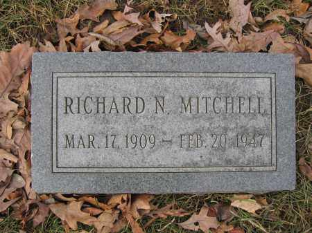 MITCHELL, RICHARD N. - Union County, Ohio | RICHARD N. MITCHELL - Ohio Gravestone Photos