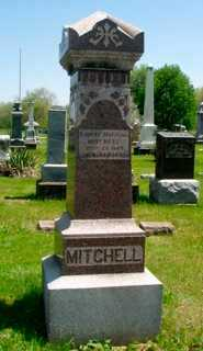 MITCHELL, ALPHA RETA SEGNER - Union County, Ohio | ALPHA RETA SEGNER MITCHELL - Ohio Gravestone Photos