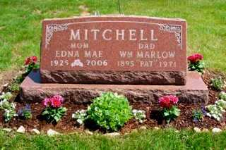 MITCHELL, EDNA MAE PHILLIPS - Union County, Ohio | EDNA MAE PHILLIPS MITCHELL - Ohio Gravestone Photos