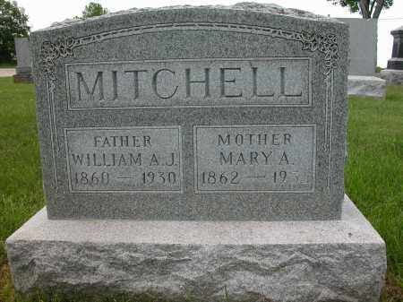 MITCHELL, MARY A. - Union County, Ohio | MARY A. MITCHELL - Ohio Gravestone Photos