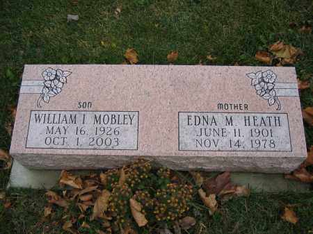 MOBLEY, WILLIAM I. - Union County, Ohio | WILLIAM I. MOBLEY - Ohio Gravestone Photos