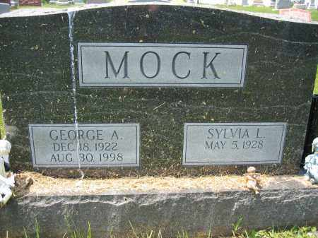 MOCK, SYLVIA L. - Union County, Ohio | SYLVIA L. MOCK - Ohio Gravestone Photos