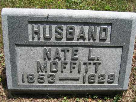 MOFFITT, NATE L. - Union County, Ohio | NATE L. MOFFITT - Ohio Gravestone Photos