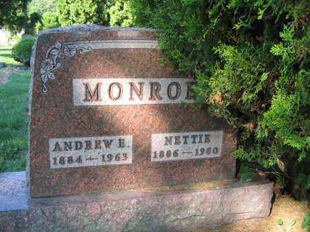 MONROE, NETTIE - Union County, Ohio | NETTIE MONROE - Ohio Gravestone Photos