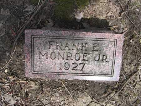 MONROE, JR., FRANK E. - Union County, Ohio | FRANK E. MONROE, JR. - Ohio Gravestone Photos