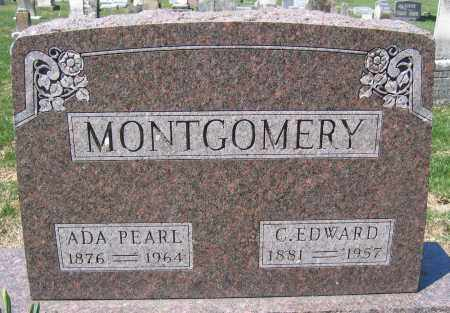 MONTGOMERY, ADA PEARL - Union County, Ohio | ADA PEARL MONTGOMERY - Ohio Gravestone Photos