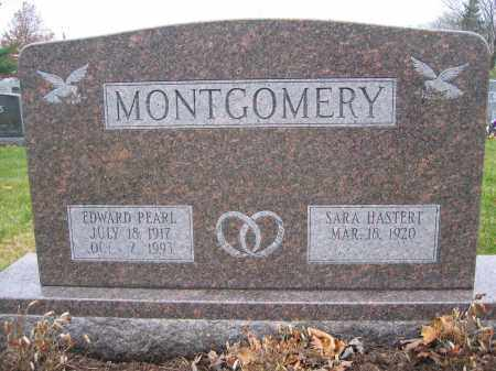 MONTGOMERY, SARA HASTERT - Union County, Ohio | SARA HASTERT MONTGOMERY - Ohio Gravestone Photos