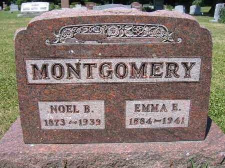 MONTGOMERY, NOEL B. - Union County, Ohio | NOEL B. MONTGOMERY - Ohio Gravestone Photos