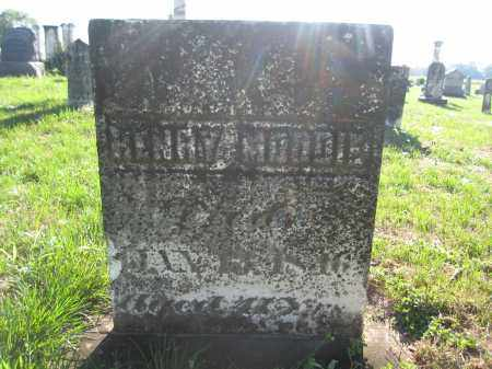 MOODIE, HENRY - Union County, Ohio | HENRY MOODIE - Ohio Gravestone Photos