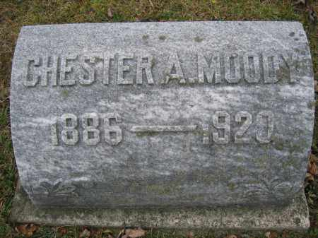 MOODY, CHESTER A. - Union County, Ohio | CHESTER A. MOODY - Ohio Gravestone Photos