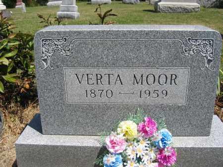 MOOR, VERTA - Union County, Ohio | VERTA MOOR - Ohio Gravestone Photos