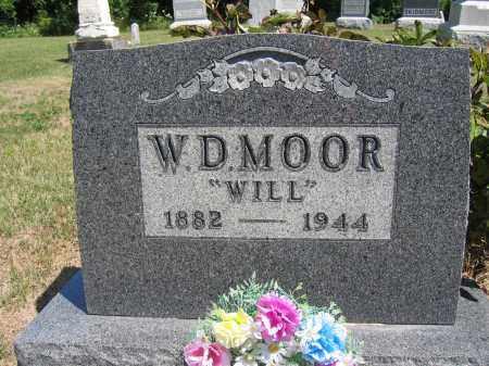 MOOR, W.D. - Union County, Ohio | W.D. MOOR - Ohio Gravestone Photos