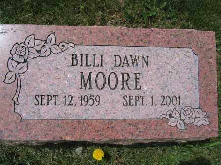 MOORE, BILLI DAWN - Union County, Ohio | BILLI DAWN MOORE - Ohio Gravestone Photos