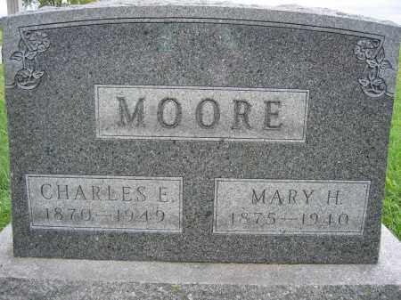 MOORE, CHARLES E. - Union County, Ohio | CHARLES E. MOORE - Ohio Gravestone Photos