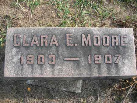 MOORE, CLARA E. - Union County, Ohio | CLARA E. MOORE - Ohio Gravestone Photos