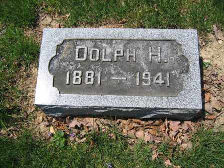 MOORE, DOLPH H. - Union County, Ohio | DOLPH H. MOORE - Ohio Gravestone Photos