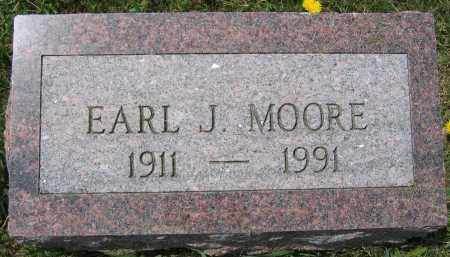 MOORE, EARL J. - Union County, Ohio | EARL J. MOORE - Ohio Gravestone Photos