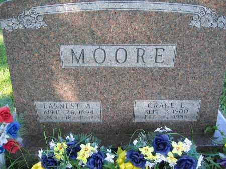 MOORE, GRACE L. - Union County, Ohio | GRACE L. MOORE - Ohio Gravestone Photos