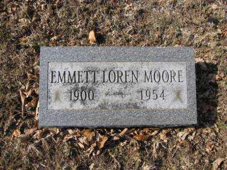 MOORE, EMMETT LOREN - Union County, Ohio | EMMETT LOREN MOORE - Ohio Gravestone Photos