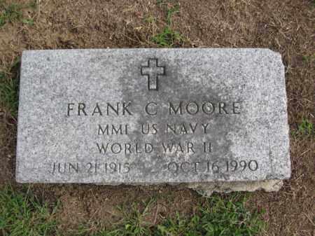 MOORE, FRANK C. - Union County, Ohio | FRANK C. MOORE - Ohio Gravestone Photos