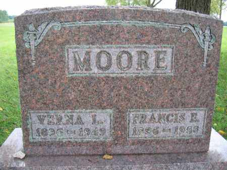 MOORE, FRANCIS E. - Union County, Ohio | FRANCIS E. MOORE - Ohio Gravestone Photos