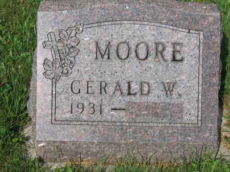 MOORE, GERALD W. - Union County, Ohio | GERALD W. MOORE - Ohio Gravestone Photos