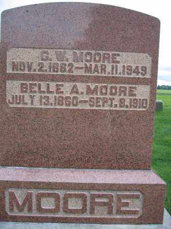 MOORE, BELLE A. - Union County, Ohio | BELLE A. MOORE - Ohio Gravestone Photos