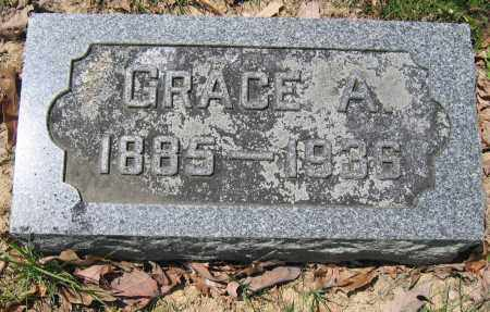 MOORE, GRACE A. - Union County, Ohio | GRACE A. MOORE - Ohio Gravestone Photos