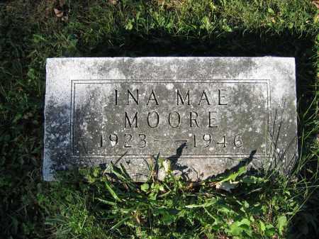 MOORE, INA MAE - Union County, Ohio | INA MAE MOORE - Ohio Gravestone Photos