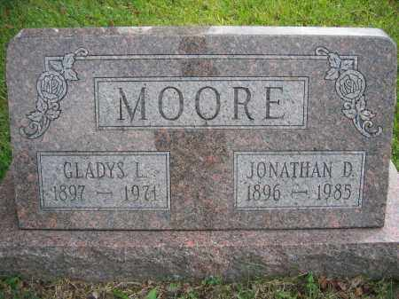 MOORE, GLADYS L. - Union County, Ohio | GLADYS L. MOORE - Ohio Gravestone Photos