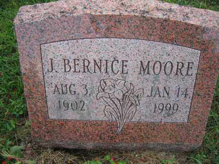 MOORE, J. BERNICE - Union County, Ohio | J. BERNICE MOORE - Ohio Gravestone Photos