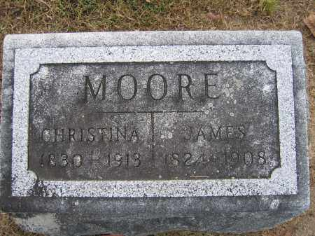 MOORE, CHRISTINA - Union County, Ohio | CHRISTINA MOORE - Ohio Gravestone Photos