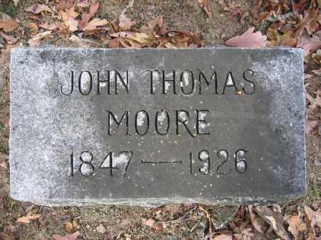MOORE, JOHN THOMAS - Union County, Ohio | JOHN THOMAS MOORE - Ohio Gravestone Photos