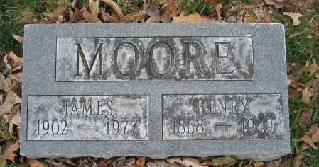 MOORE, HENRY - Union County, Ohio | HENRY MOORE - Ohio Gravestone Photos