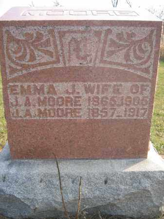 MOORE, EMMA J. - Union County, Ohio | EMMA J. MOORE - Ohio Gravestone Photos