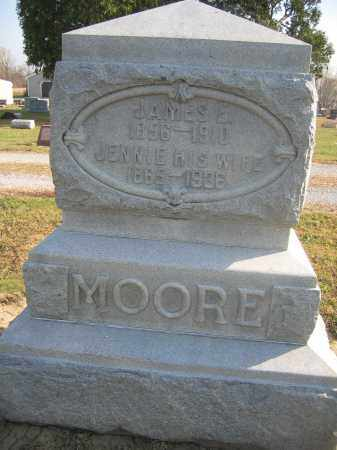 MOORE, JENNIE - Union County, Ohio | JENNIE MOORE - Ohio Gravestone Photos