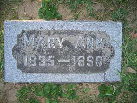 MOORE, MARY ANN - Union County, Ohio | MARY ANN MOORE - Ohio Gravestone Photos