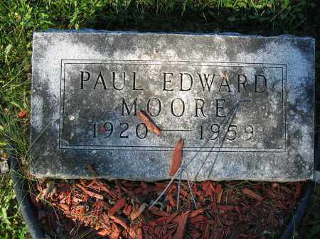 MOORE, PAUL EDWARD - Union County, Ohio | PAUL EDWARD MOORE - Ohio Gravestone Photos