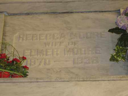 MOORE, REBECCA - Union County, Ohio | REBECCA MOORE - Ohio Gravestone Photos