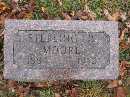 MOORE, STERLING B. - Union County, Ohio | STERLING B. MOORE - Ohio Gravestone Photos