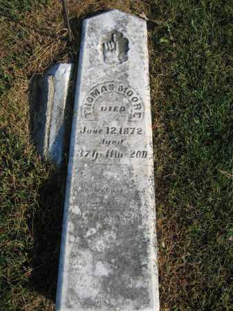 MOORE, THOMAS - Union County, Ohio   THOMAS MOORE - Ohio Gravestone Photos