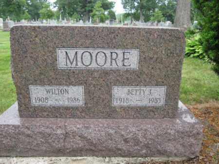 MOORE, WILTON - Union County, Ohio | WILTON MOORE - Ohio Gravestone Photos