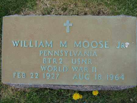 MOOSE, JR., WILLIAM M. - Union County, Ohio | WILLIAM M. MOOSE, JR. - Ohio Gravestone Photos