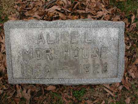 MOREHOUSE, ALICE L. - Union County, Ohio | ALICE L. MOREHOUSE - Ohio Gravestone Photos