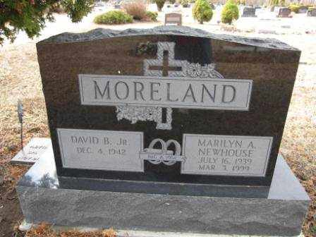 MORELAND, MARILYN A. NEWHOUSE - Union County, Ohio | MARILYN A. NEWHOUSE MORELAND - Ohio Gravestone Photos