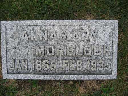 MORELOCK, ANNA MARY - Union County, Ohio | ANNA MARY MORELOCK - Ohio Gravestone Photos